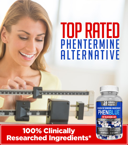 PHENBLUE top rated phentermine alternative banner