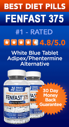 #1 Best Diet Pills FENFAST 375