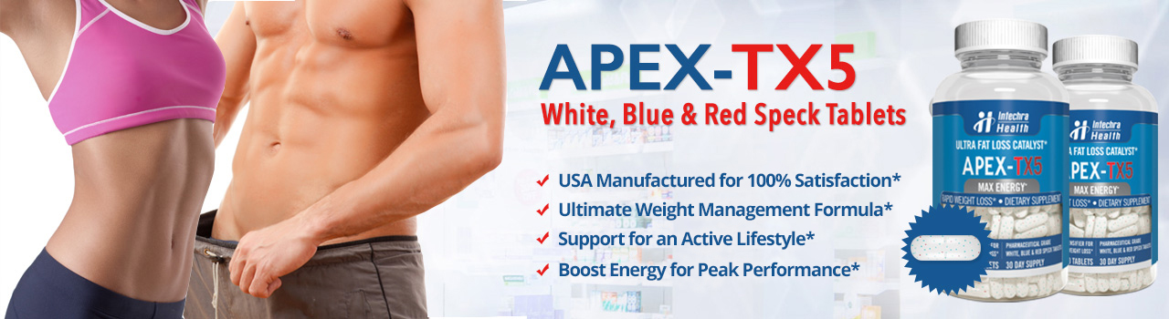 Apex-tx5 banner listing benefits